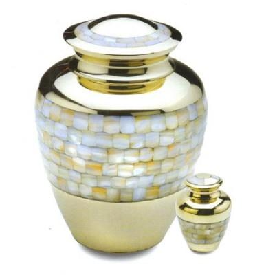 Urne en laiton Mosaique
