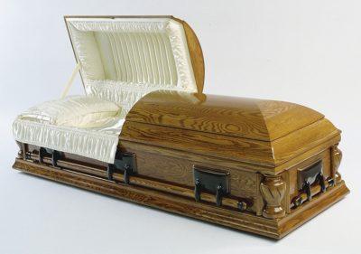 Cercueil chêne