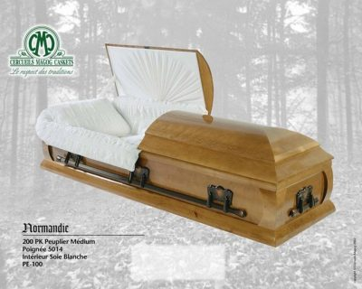 Cercueil Peuplier